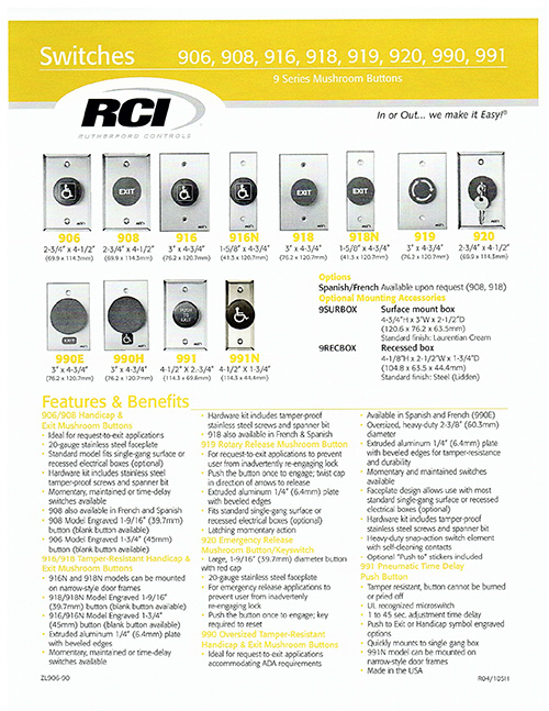 Card Access Key Pad Electric Strikes Amp Mag Lock Systems
